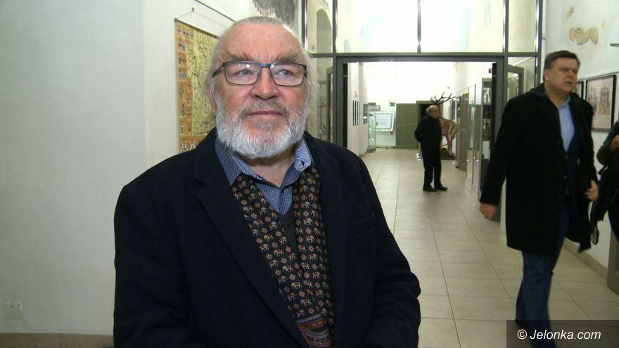 Jelenia Góra: Spotkanie w muzeum z F. Maśluszczakiem