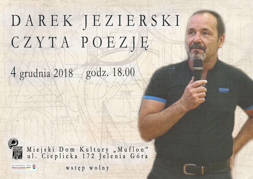"""Jelenia Góra: Dariusz Jezierski z poezją w """"Muflonie"""""""