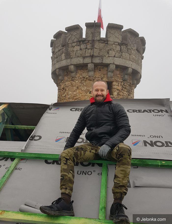 Staniszów: Jest nowy dach na Zamku Księcia Henryka