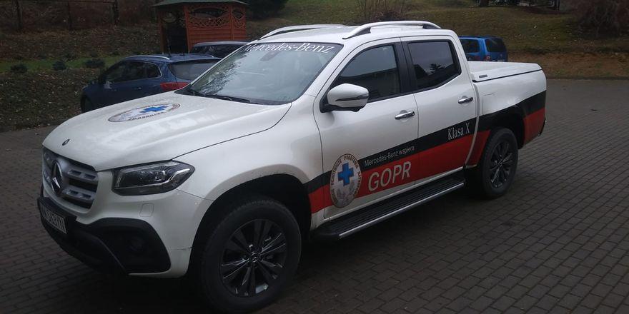 Region: Nowy samochód dla goprowców