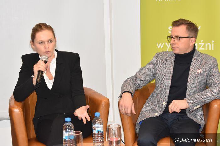 Jelenia Góra: Rozmowa o Polsce z Barbarą Nowacką