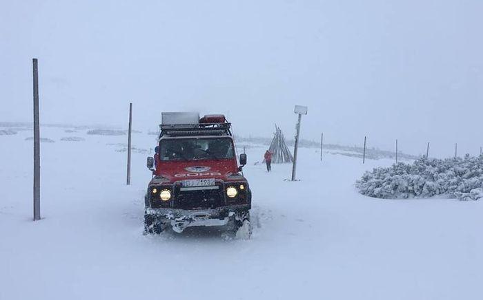 Region: Akcja ratunkowa goprowców na Śnieżce