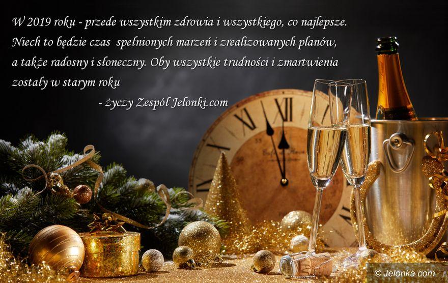 Jelenia Góra: Pomyślnego Nowego Roku!