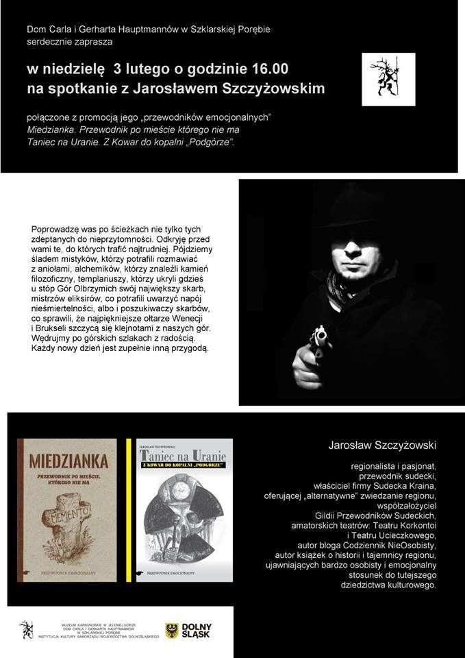 Szklarska Poręba: Spotkanie z J. Szczyżowskim u Hauptmannów