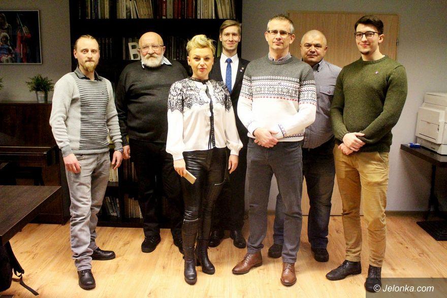 Jelenia Góra: Spotkali się zwolennicy Marka Jakubiaka