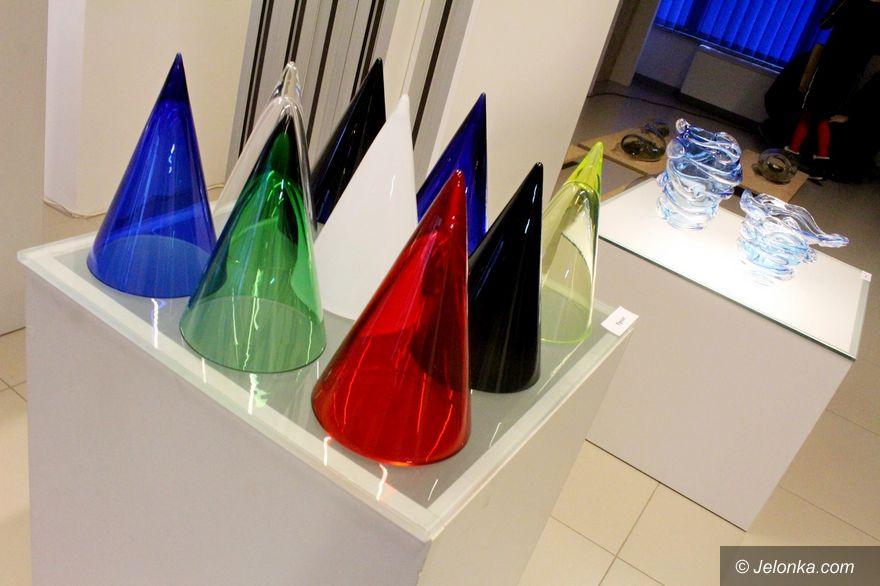 Jelenia Góra: Wystawa szkła Aleksandry Kujawskiej