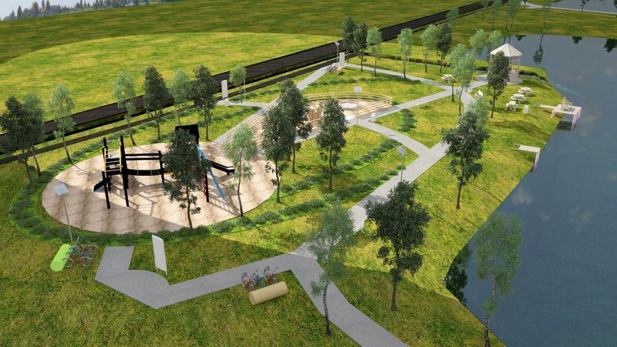 Kowary: Nowy park na wiosnę