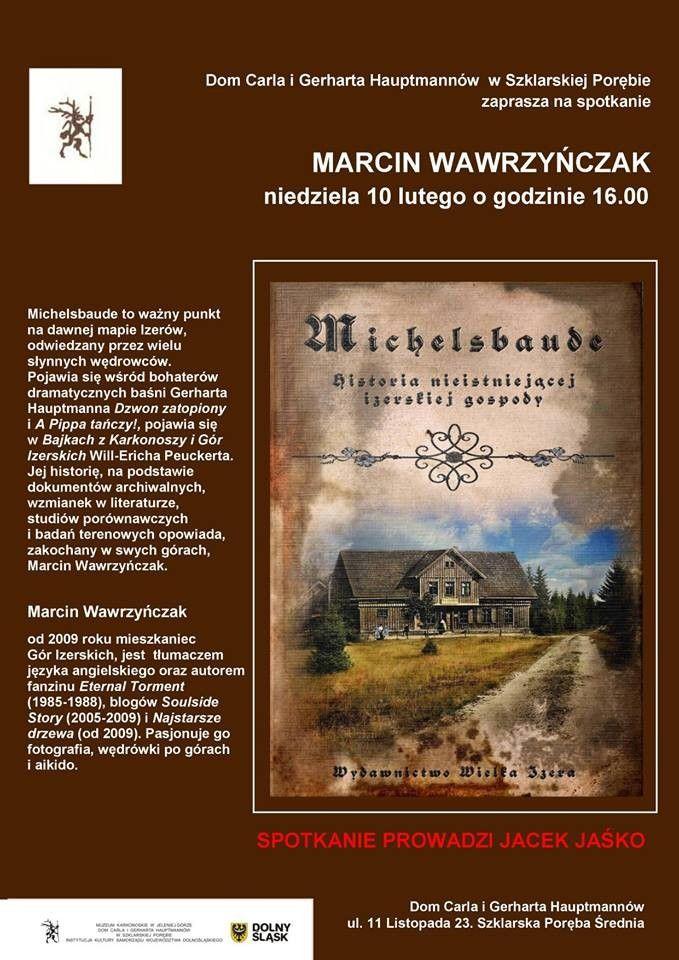 Szklarska Poręba: Spotkanie z M. Wawrzyńczakiem pod Szrenicą