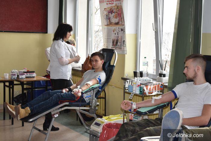 Jelenia Góra: Oddawali krew