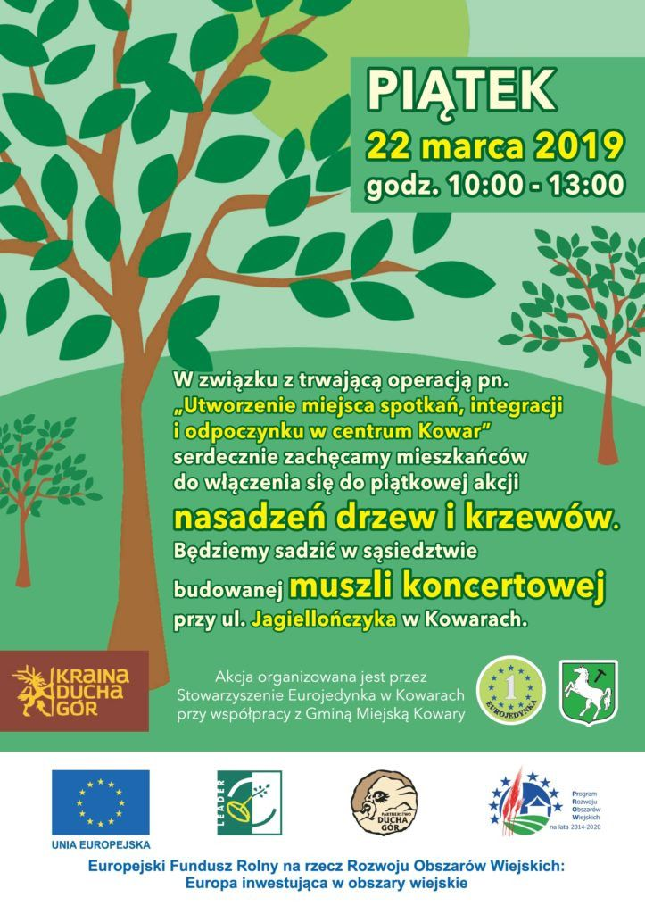 Kowary: Posadzą drzewa przy muszli koncertowej