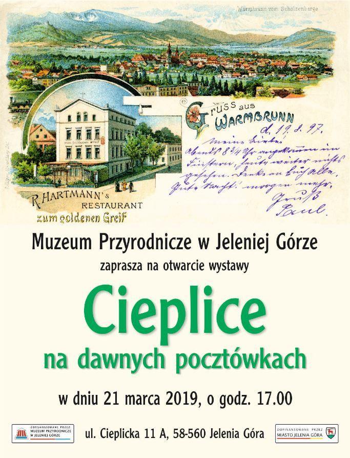 Jelenia Góra/Cieplice: Cieplice na dawnych pocztówkach – wernisaż