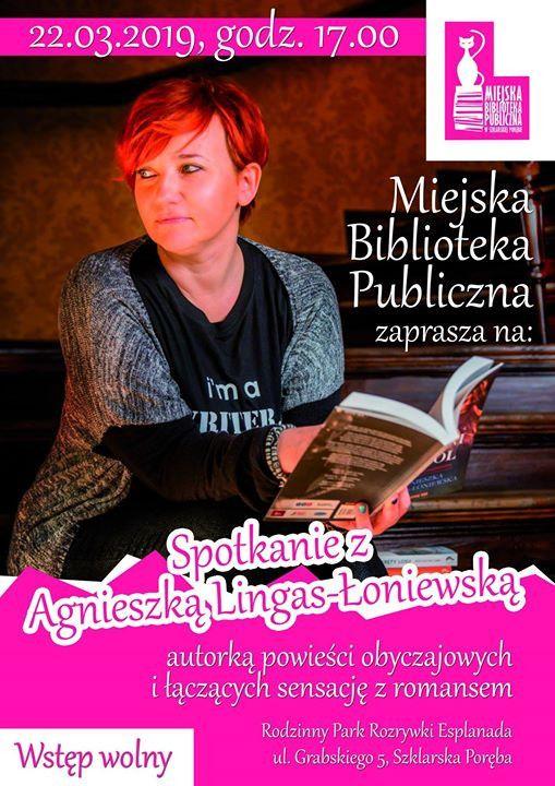 Szklarska Poręba: Spotkanie z pisarką w Esplanadzie