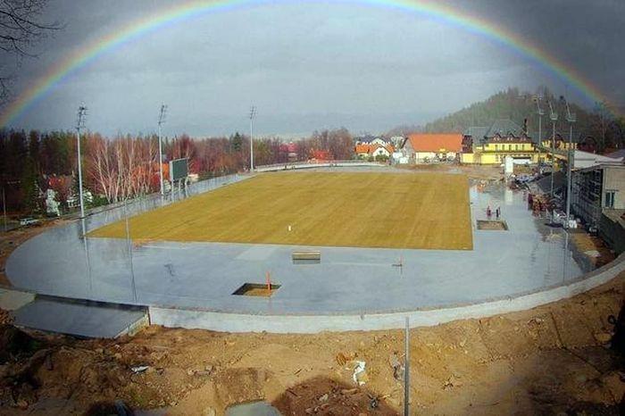 Jelenia Góra: Stadion w Karpaczu jest  już prawie gotowy
