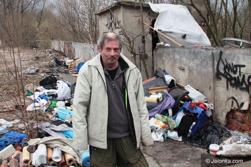 Jelenia Góra: Śmietnisko przy Bobrze