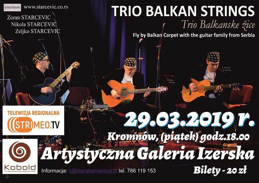 Kromnów: Serbskie trio wystąpi dzisiaj w Kromnowie