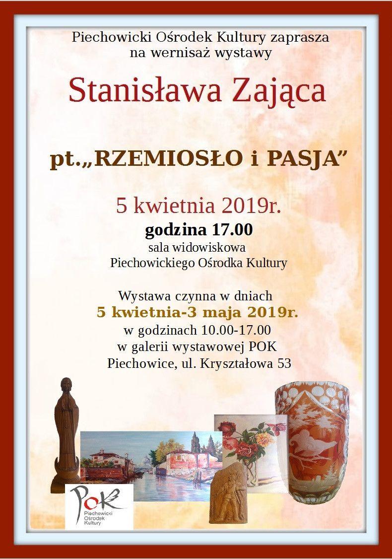 Piechowice: Wernisaż wystawy Stanisława Zająca w POK