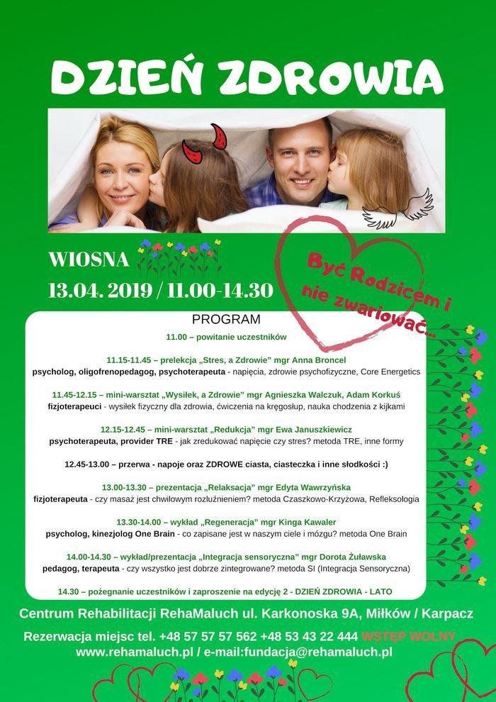 """Miłków: """"Dzień Zdrowia"""" w Miłkowie"""