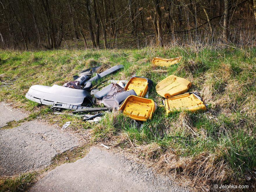 Jelenia Góra: Śmieci przy