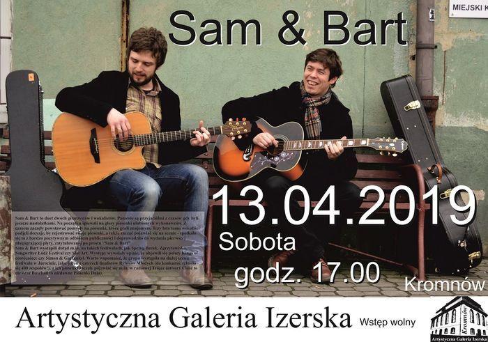 Kromnów: Koncert duetu Sam&Bart w Kromnowie