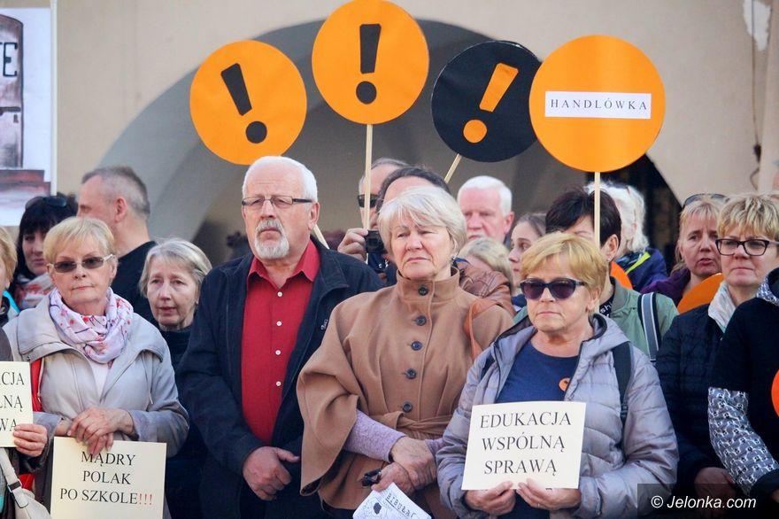 Jelenia Góra: Wsparcie strajkujących