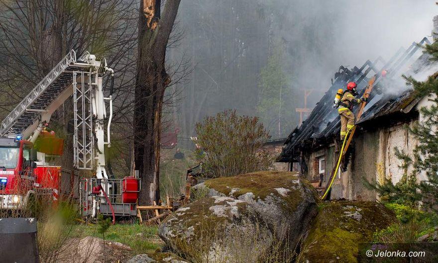 Staniszów: Pożar w Staniszowie