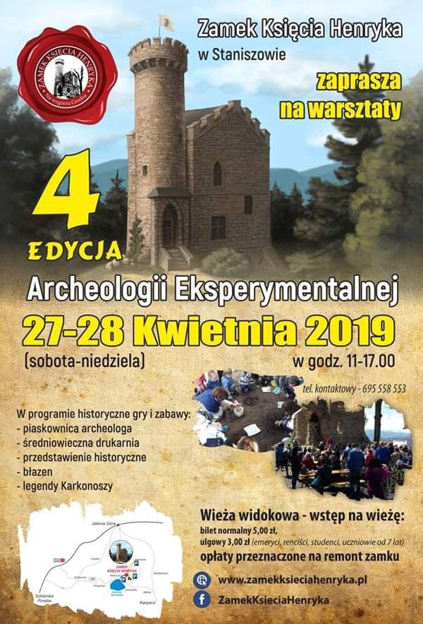 Staniszów: Weekend z archeologią na zamku