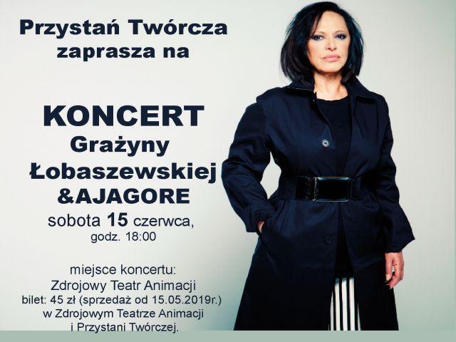 Jelenia Góra: Koncert Grażyny Łobaszewskiej & Ajagore – Greatest Hits