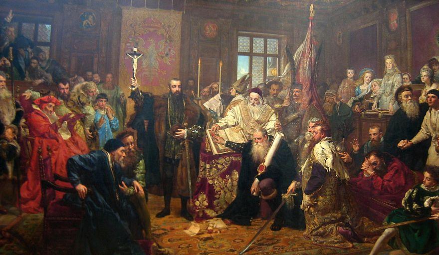 """Jelenia Góra: """"Unia Lubelska"""" była w Jeleniej Górze"""