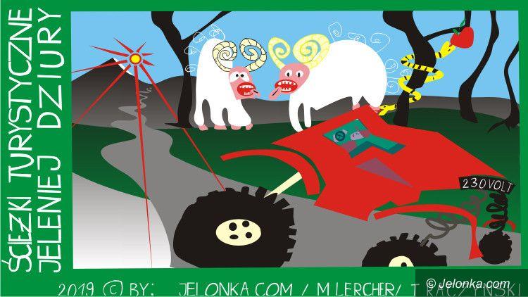 Jelenia Góra: Rozjeżdżamy lasy! Hejduro!