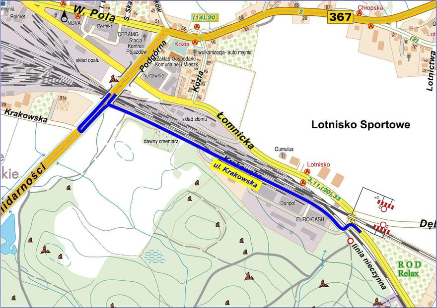 Jelenia Góra: Od poniedziałku będą utrudnienia w ruchu (komunikat)