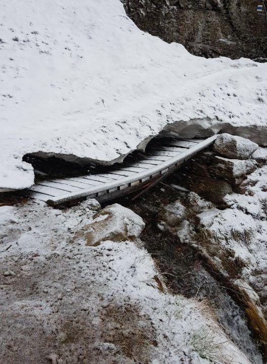 Region: Zamknięty szlak w czeskich Karkonoszach