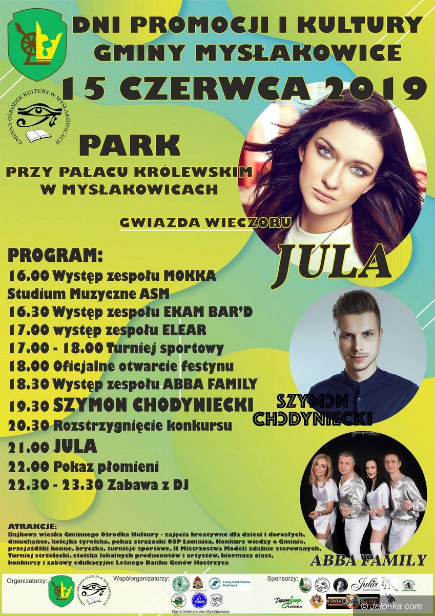 Mysłakowice: W czerwcu koncert Juli