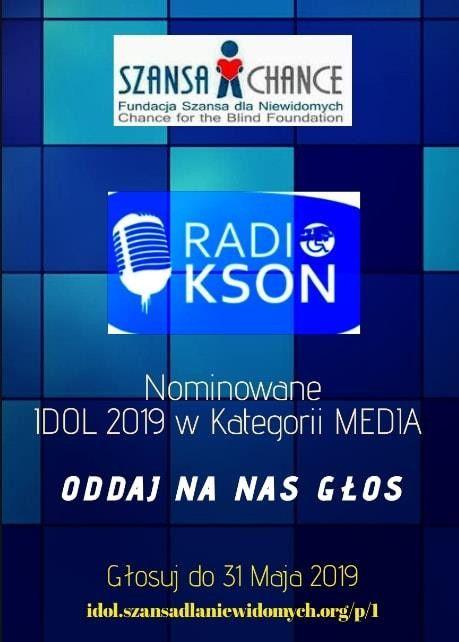"""Jelenia Góra: Zagłosuj na Radio KSON w Konkursie """"Idol 2019"""""""