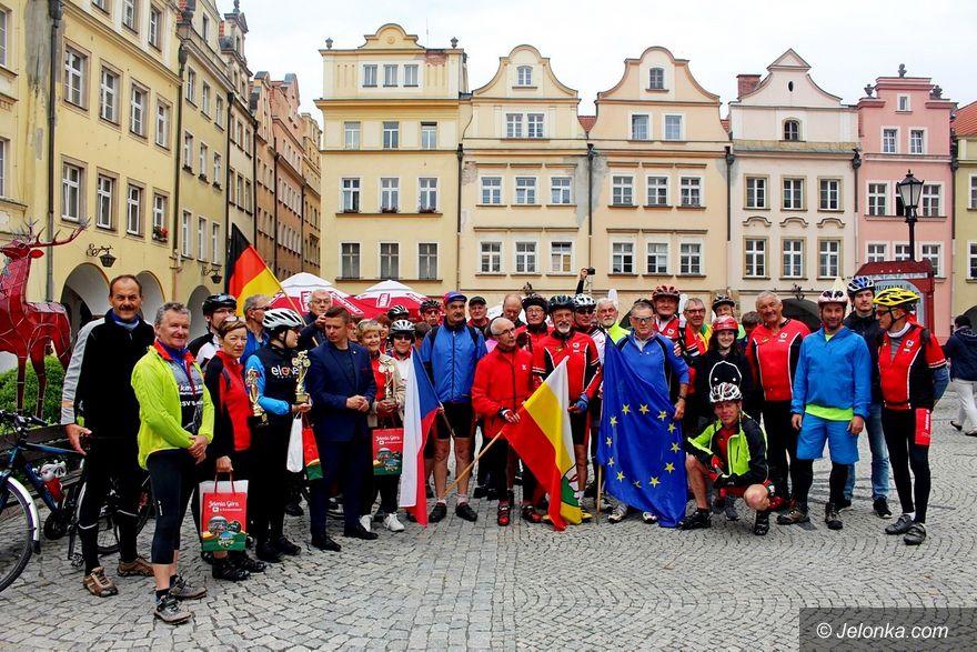 Jelenia Góra: Partnerski rajd rowerowy