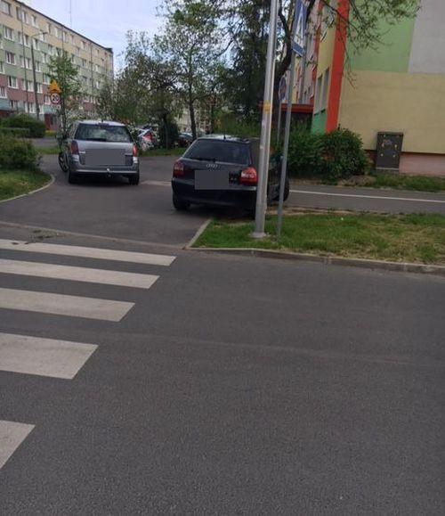 Jelenia Góra: Trawnik to nie parking