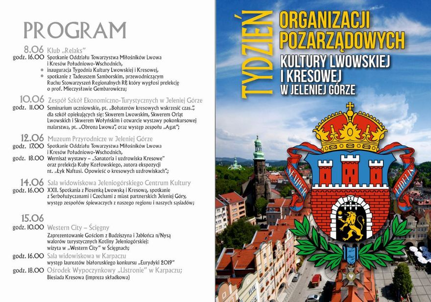 Jelenia Góra: Ruszają Dni Kultury Lwowskiej i Kresowej
