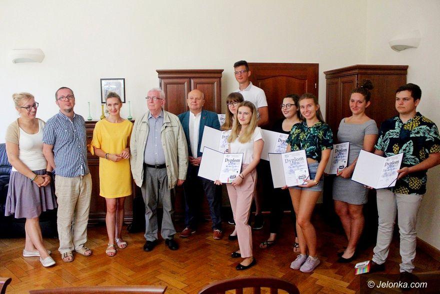 Jelenia Góra: Podziękowania za pomoc w promocji