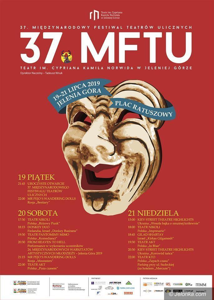 Jelenia Góra: Teatry uliczne już za trzy tygodnie