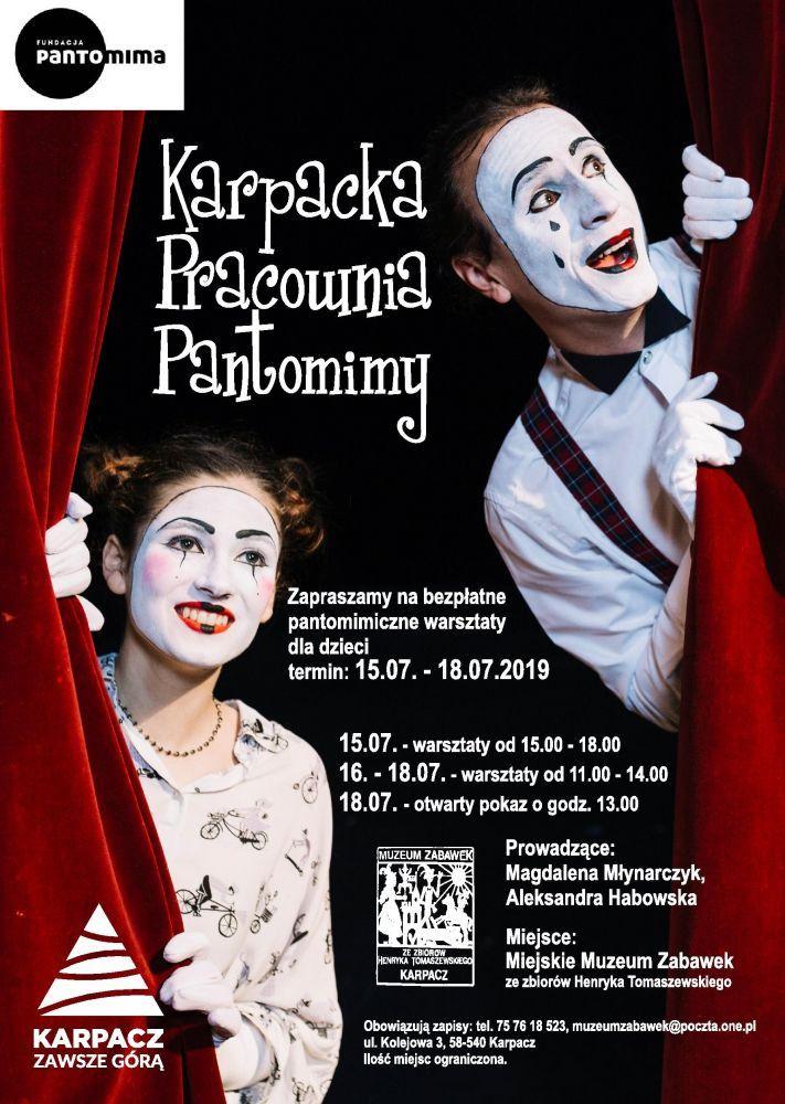 Karpacz: Warsztaty pantomimy w Karpaczu