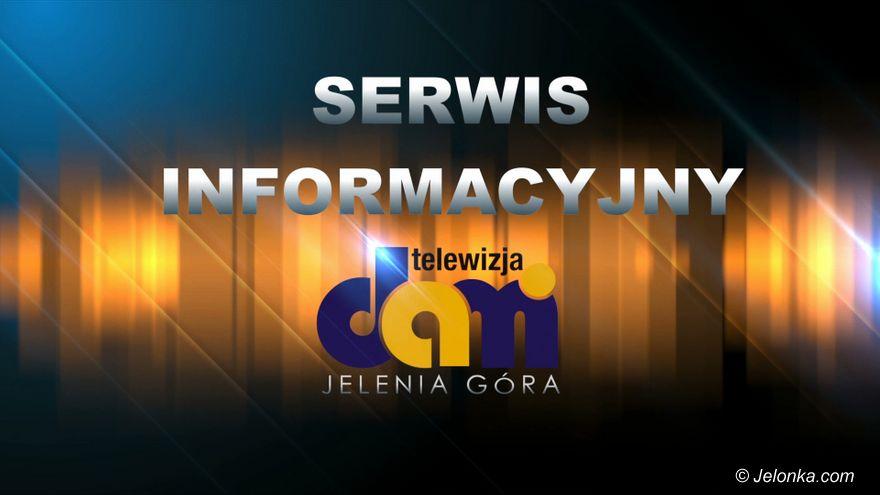 Jelenia Góra: Serwis Informacyjny TV Dami Jelenia Góra z dnia 15.07.2019 r.