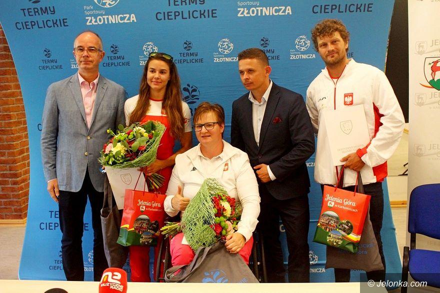 Jelenia Góra: Podziękowali sportowcom