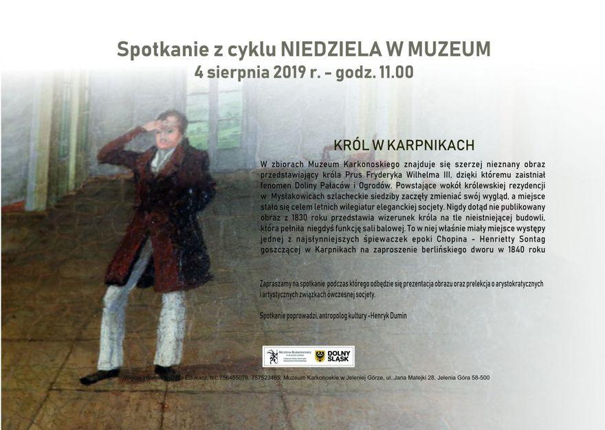 Jelenia Góra: O nieznanym obrazie w Muzeum Karkonoskim