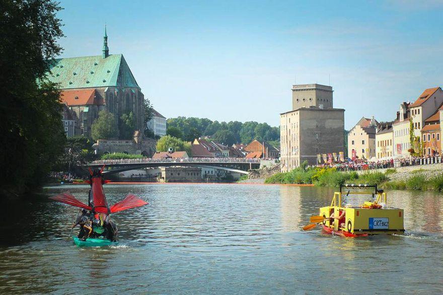 Region: Spływ na byle czym 2019 Görlitz/ Zgorzelec