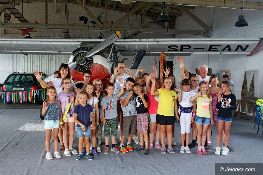 Jeżów Sudecki: Półkolonie z Aeroklubem