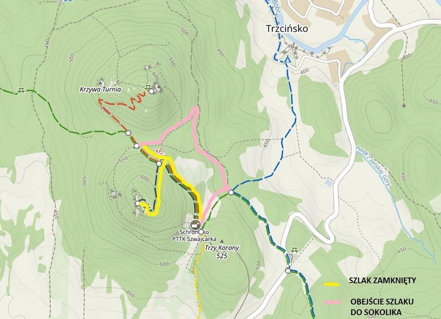 Janowice Wielkie: Zamknięcie szlaków w Rudawach Janowickich