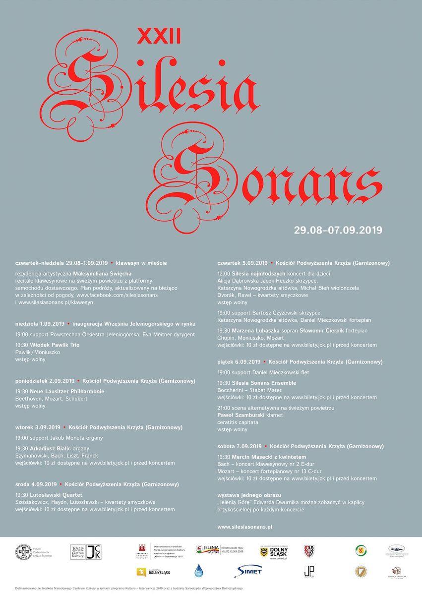 Jelenia Góra: Silesia Sonans już wkrótce