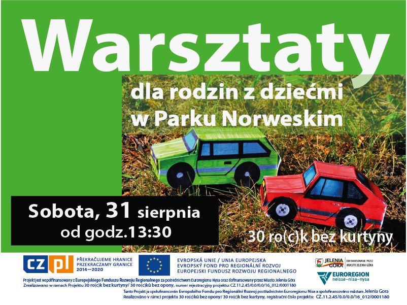 Jelenia Góra: Motoryzacja PRL–u w Parku Norweskim