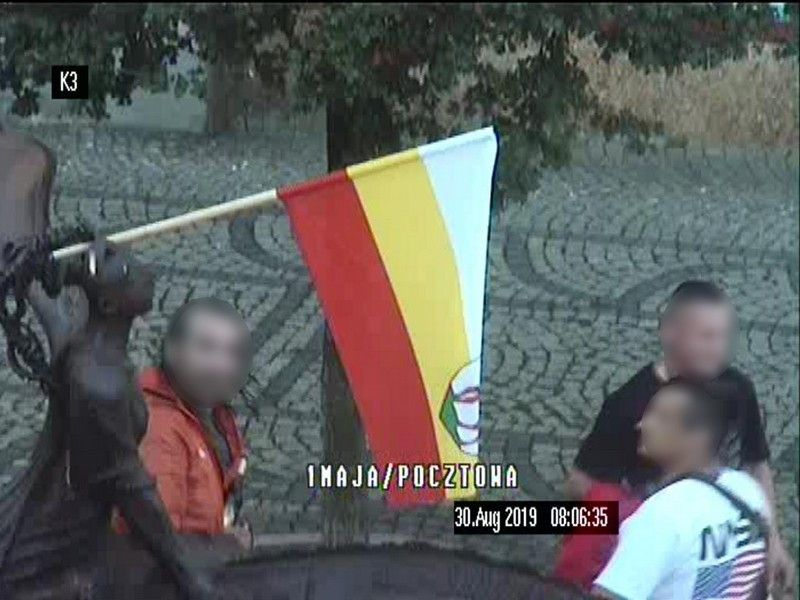 Jelenia Góra: Chuligański wybryk w centrum miasta