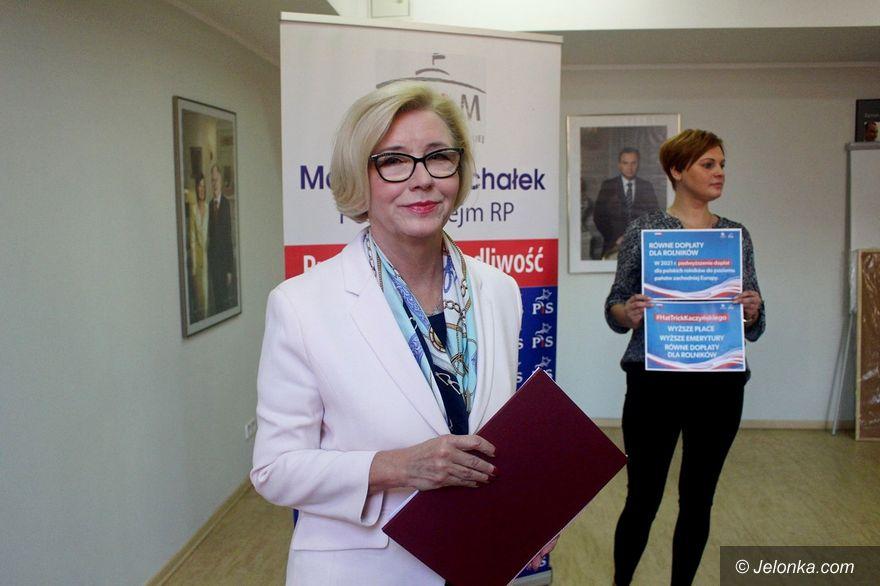 Jelenia Góra: Marzena Machałek o programie PiS