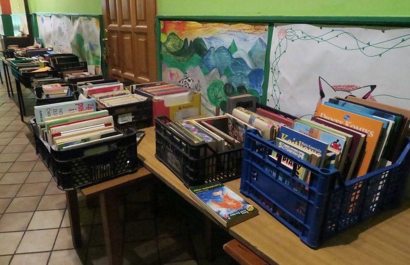 Janowice Wielkie: Kiermasz książek w wiejskiej świetlicy